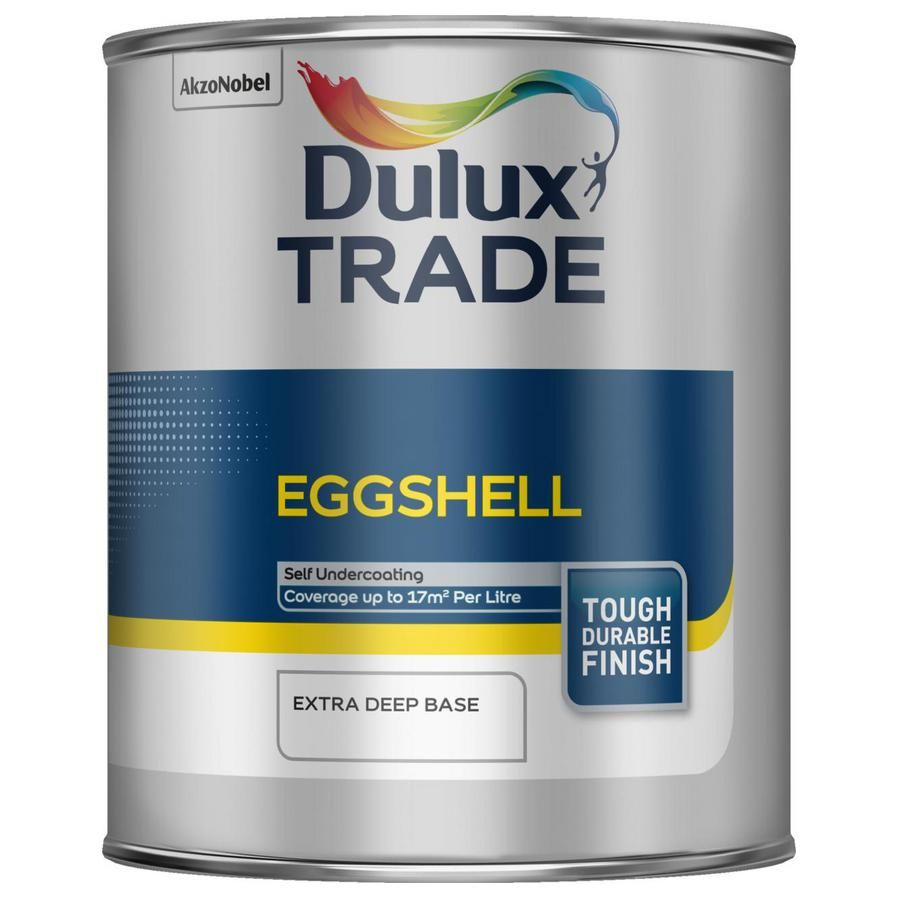 Dulux Trade Eggshell Magnolia White Or Pbw