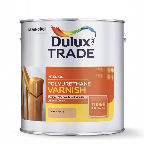 Dulux Trade Polyurethane Varnish Matt 2.5L