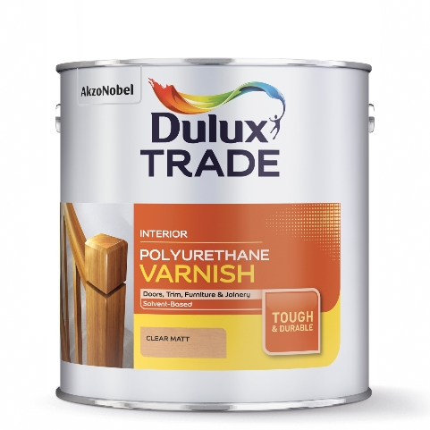 Dulux Trade Polyurethane Varnish Satin