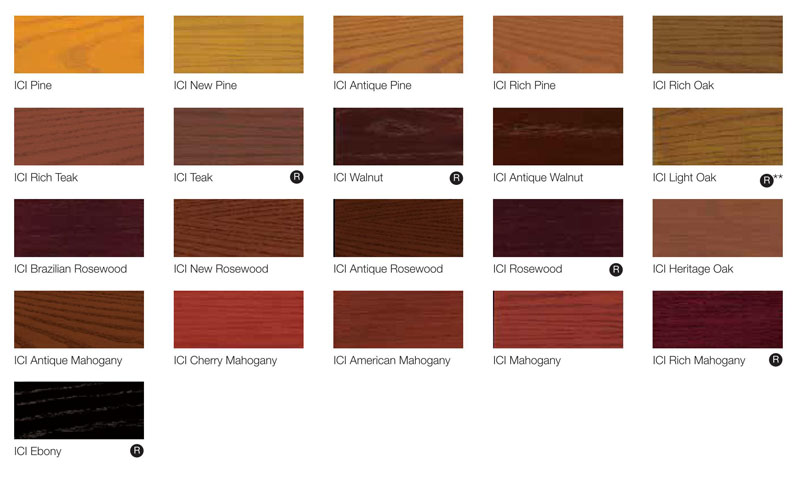 Dulux exterior wood paint colour chart dulux trade quick dry exterior woodstain custom mixed - Sadolin exterior wood paint image ...