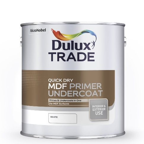 Dulux Trade Quick Dry MDF Primer 2.5 Litres