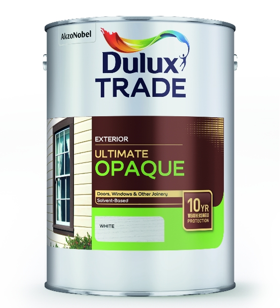 Dulux Trade Ultimate Opaque Black or White