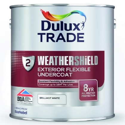 Dulux trade weathershield exterior flexible undercoat - Dulux exterior gloss paint style ...