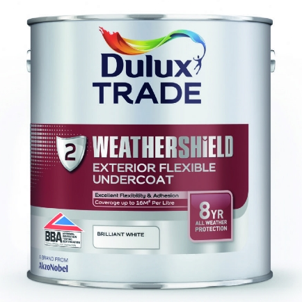 Dulux Trade Weathershield Exterior Flexible Undercoat Custom Mixed Colours