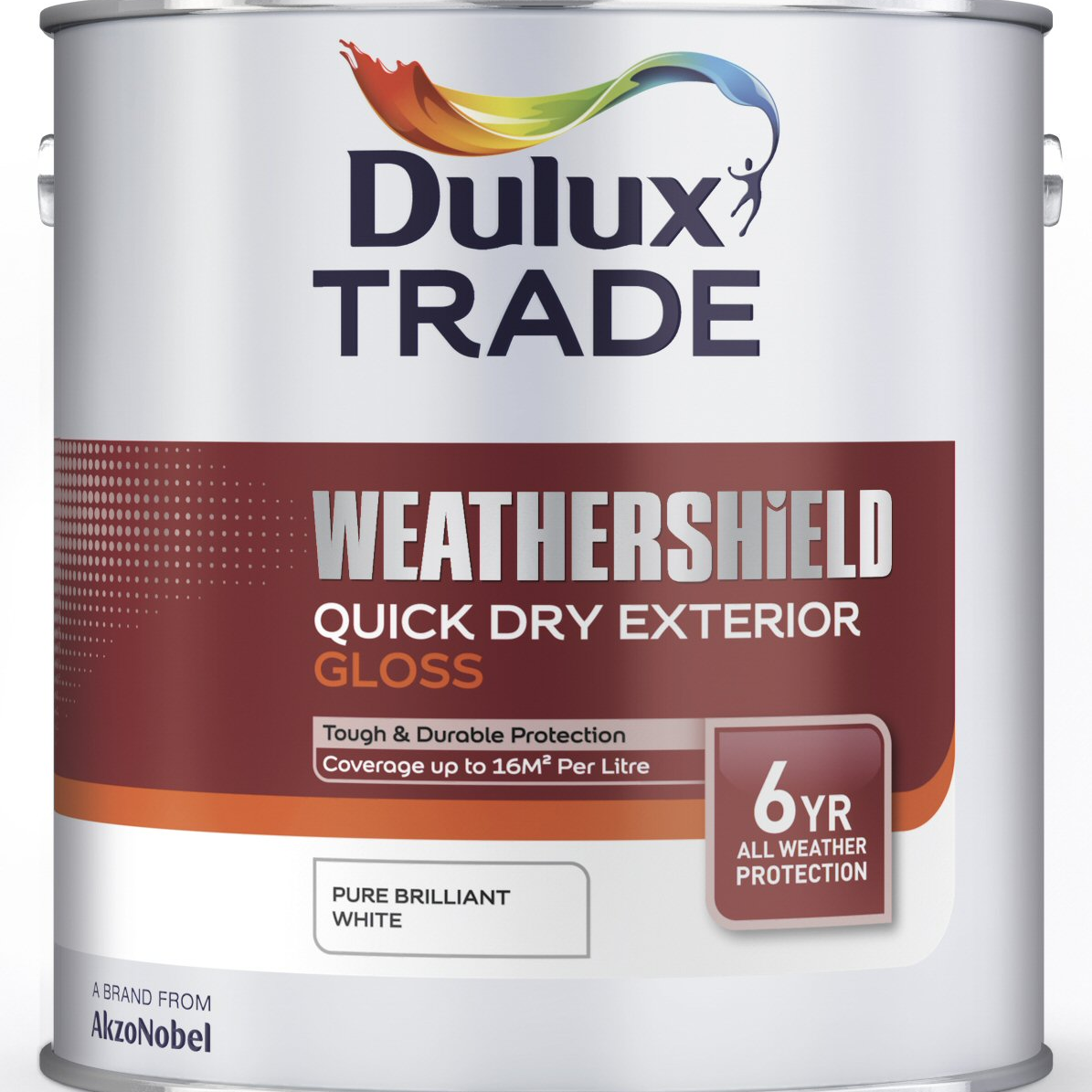 Dulux trade weathershield quick dry exterior gloss custom - Weathershield exterior paint system ...