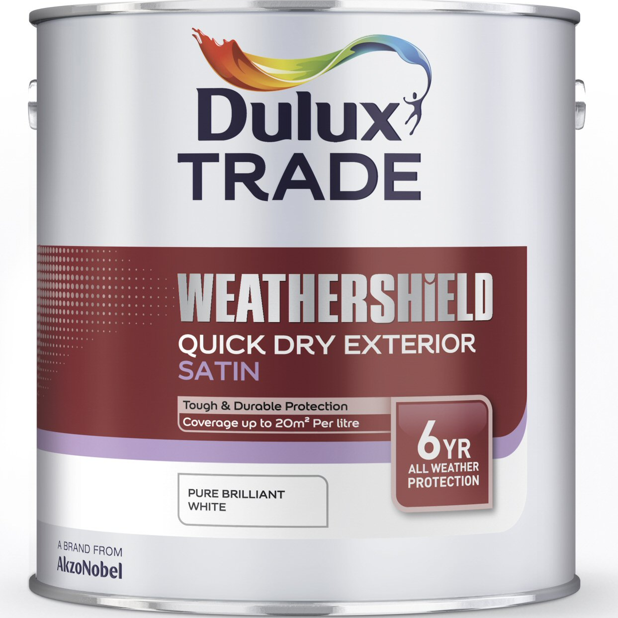 Dulux Trade Weathershield Quick Dry Exterior Satin Custom