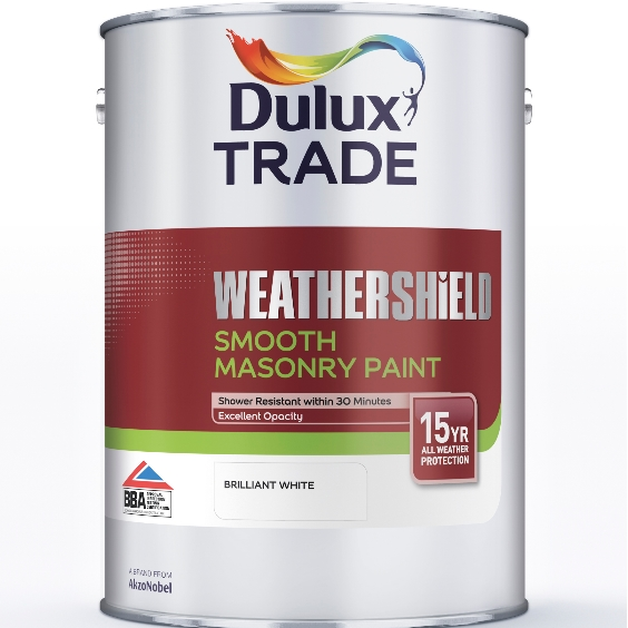 Dulux Trade Weathershield Smooth Masonry Custom Mixed Colours