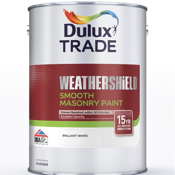 Dulux Trade Weathershield Smooth Masonry Standard Colours