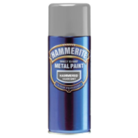 Hammerite Direct to Rust Metal Paint Hammered Finish Aerosol 400ml