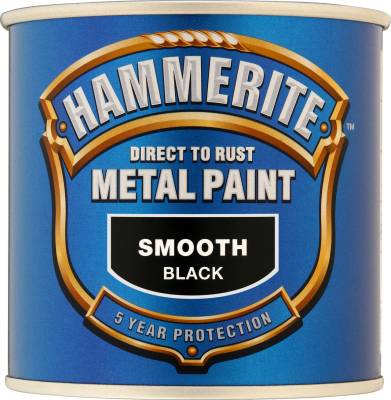 Hammerite Direct To Rust Metal Paint Smooth Finish 250ml