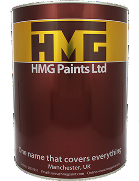 HMG PVC94 1K Vinyl Acrylic for Plastic and Cladding Custom Mixed Colours 5L