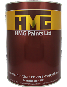 HMG PVC94 1K Vinyl Acrylic for Plastic and Cladding Standard Colours 5L