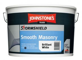 Johnstone's Stormshield Smooth Masonry Magnolia 10L