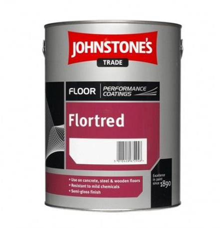 Johnstones Trade Flortred Standard Colours 5L