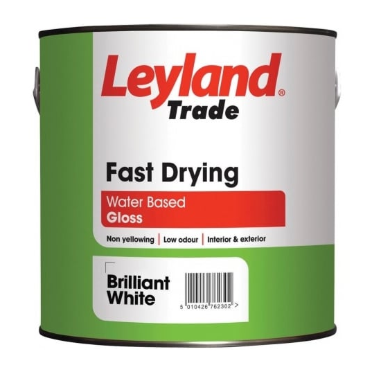 Leyland Fast Drying Gloss Standard Colours