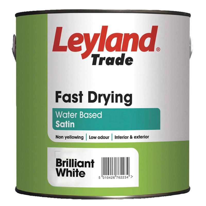 Leyland Fast Drying Satin Standard Colours