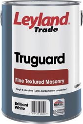 Leyland Trade Truguard Fine Textured Masonry Standard Colours 5L