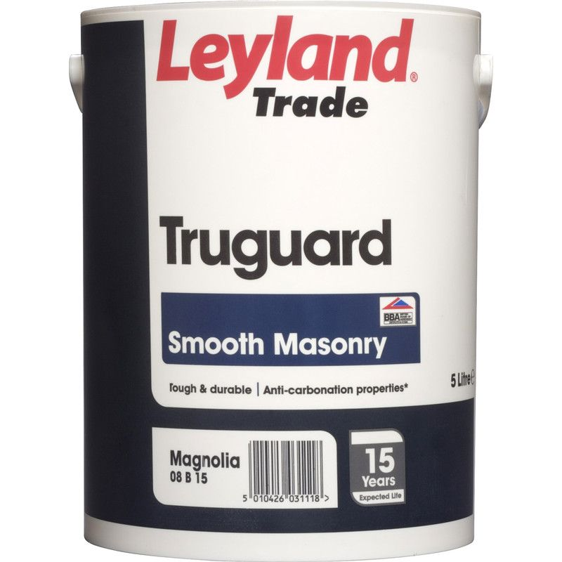 Leyland Trade Truguard Smooth Masonry Standard Colours 5L