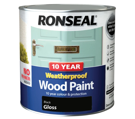 Ronseal 10 Year Weatherproof Wood Paint 2.5L