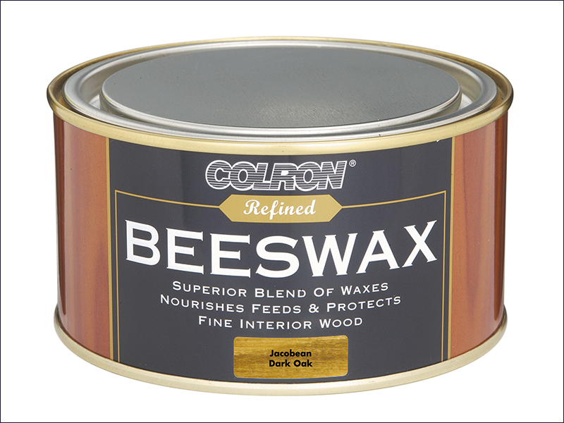 Ronseal Colron Refined Beeswax Paste Dark Oak 400g