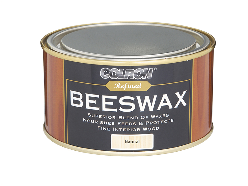 Ronseal Colron Refined Beeswax Paste Medium Oak 400g