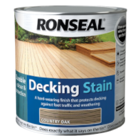 Ronseal Decking Stain Country Oak 2.5 Litre