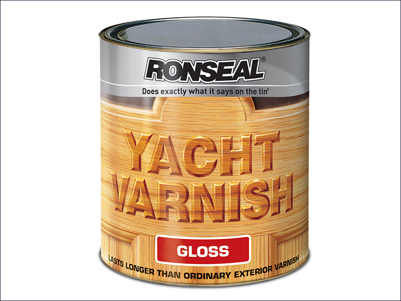 Ronseal Exterior Yacht Varnish Gloss 1 Litre