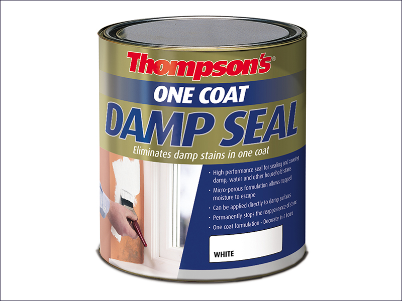 Ronseal Thompsons One Coat Damp Seal Paint 2.5 Litre
