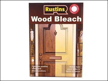 Rustins Wood Bleach Set (A & B Solution 500ml)