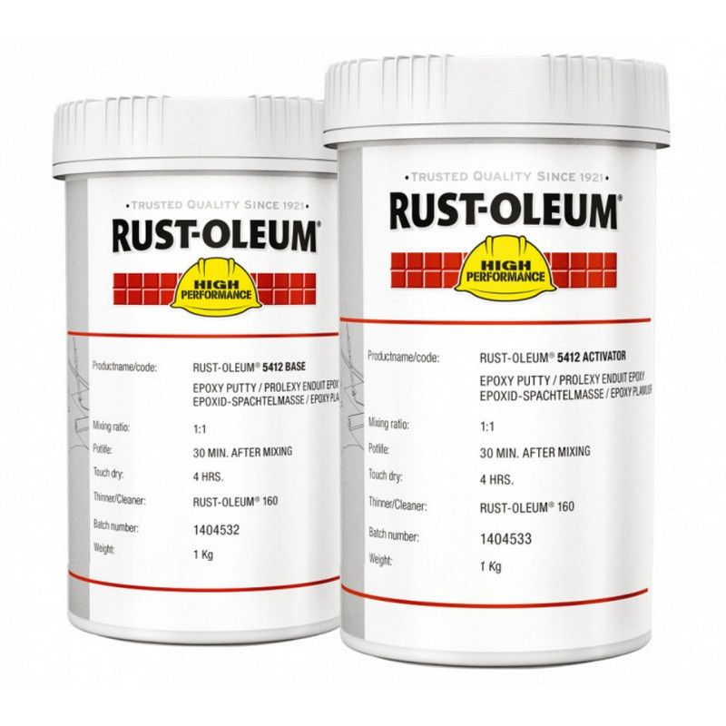Rustoleum 5412 Epoxy Repair Putty 2kg