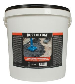 Rustoleum asphalt repair for pot-holes 25kg