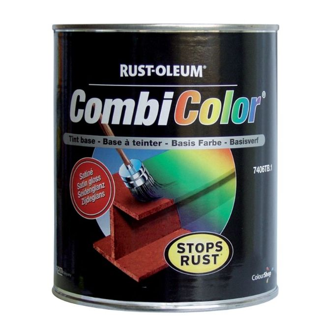 Rustoleum CombiColor 7400 Satin Metal Paint Standard Colours