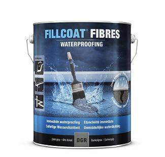 Rustoleum Fillcoat Fibres Waterproofing Light Grey