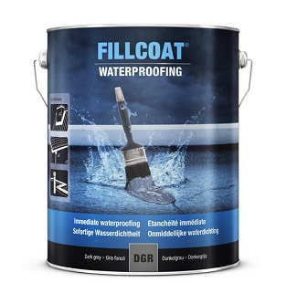 Rustoleum Fillcoat Waterproofing Light Grey