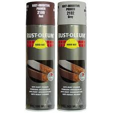 Rustoleum Hard Hat Anti-Corrosion Primer Aerosol 500ml