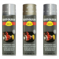 Rustoleum Hard Hat Metallic Topcoat Aerosol 500ml