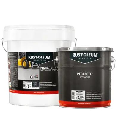 Rustoleum Mathys Pegakote WB Epoxy Custom Mixed Colours
