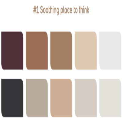 Soothing place to think palette #1