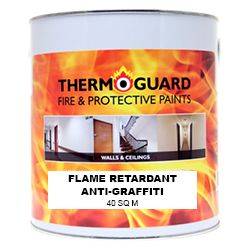 Thermoguard Flame Retardant Anti-Graffiti Clear Glaze