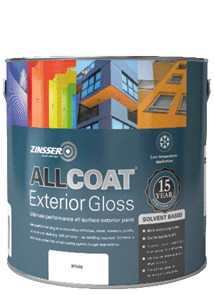 Zinsser AllCoat Exterior SB Gloss Standard Colours