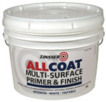 Zinsser AllCoat Water Based Multi-Surface Primer & Finish 10L