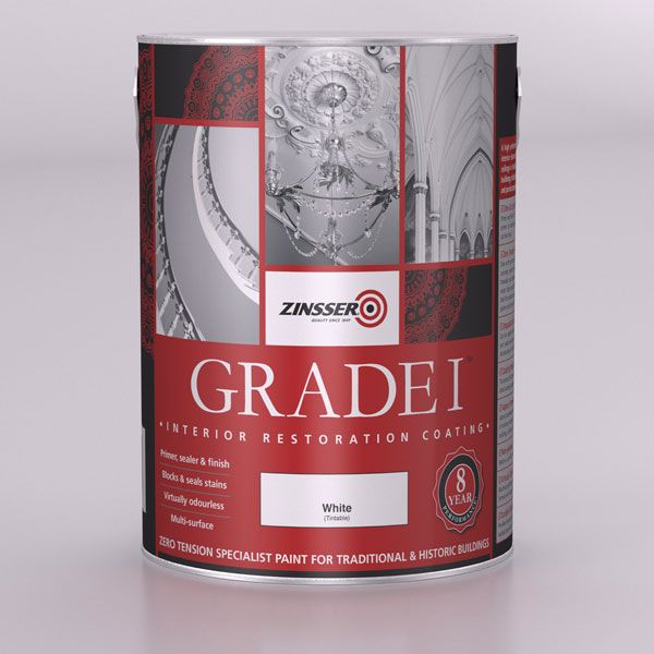 Zinsser Grade 1 Paint White