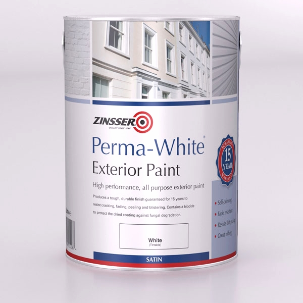 Zinsser perma white exterior satin - How fast does exterior paint dry ...