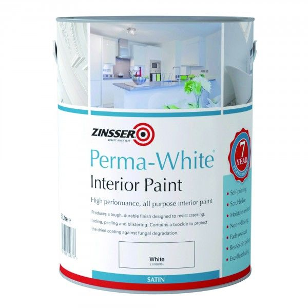 Zinsser Perma-White Interior Satin