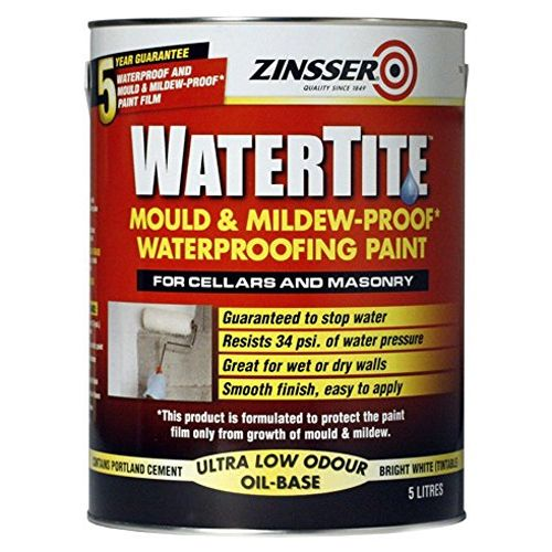 Zinsser WaterTite Waterproofing Cellar Paint